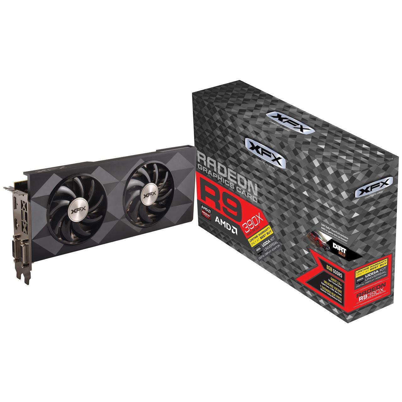 8GB XFX Radeon R9 390X Double Dissipation Edition Aktiv
