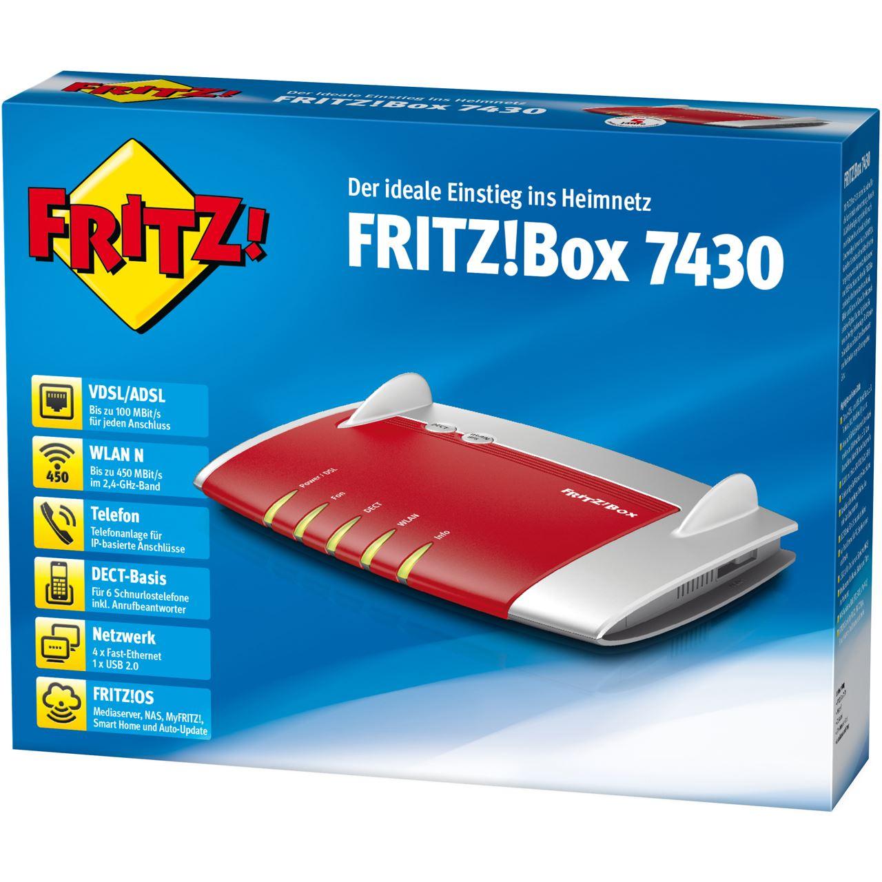 AVM FRITZBox 20 Wireless Router + Modem 20   WLAN ...