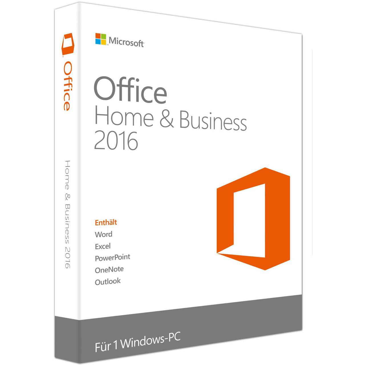 Microsoft Office 2016 Home & Business PKC Französisch - Office 2016 ...