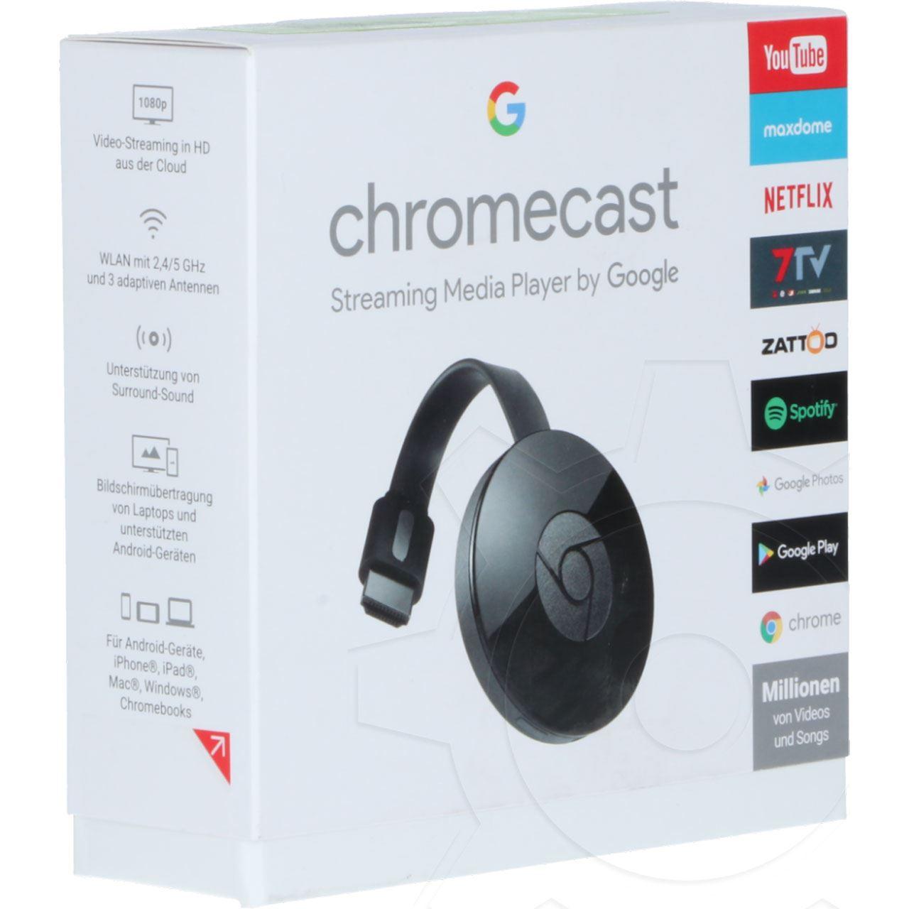 Google Chromecast HDMI Media Player 20. Generation   Medien ...