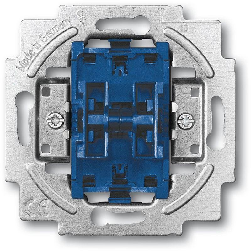 Metallisch Busch-Jaeger 2000//6US Schalterserien Wechselschalter Blau
