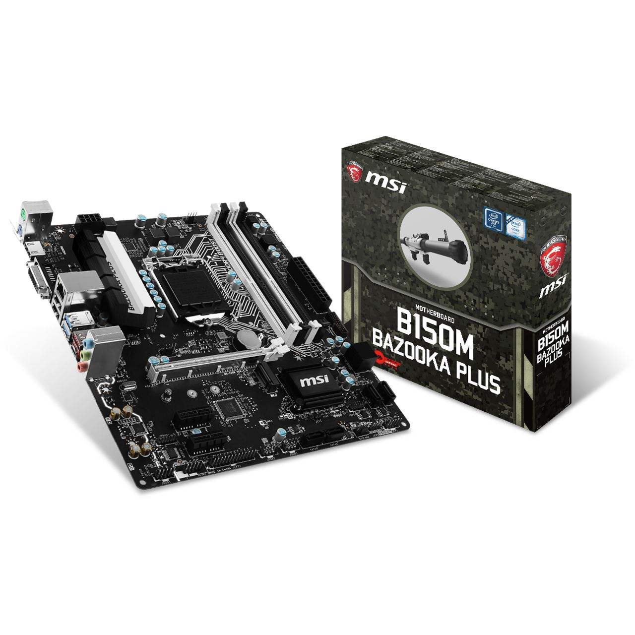 MSI B150M BAZOOKA Plus Intel B150 So1151 Dual Channel
