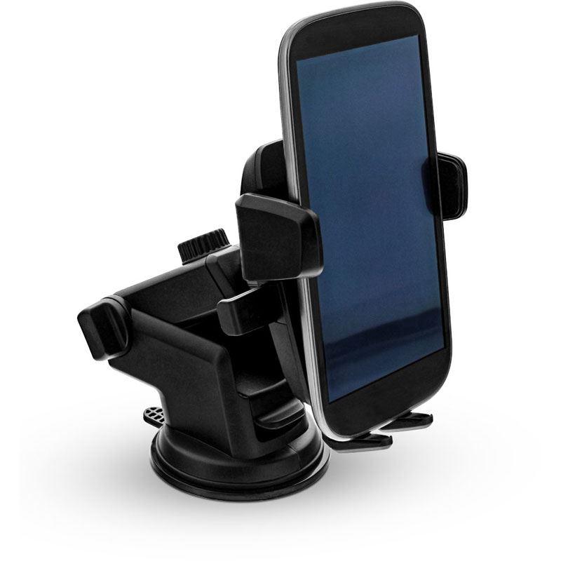 inline kfz smartphone halterung mit saugnapf one click. Black Bedroom Furniture Sets. Home Design Ideas