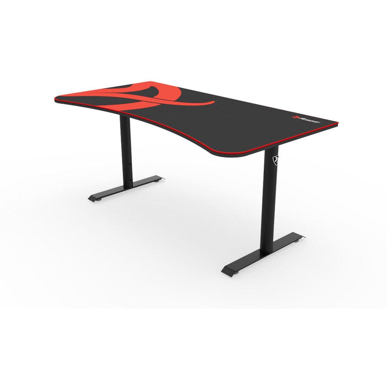 Arozzi gaming tisch arena schwarz gaming tische for Tisch schwarz