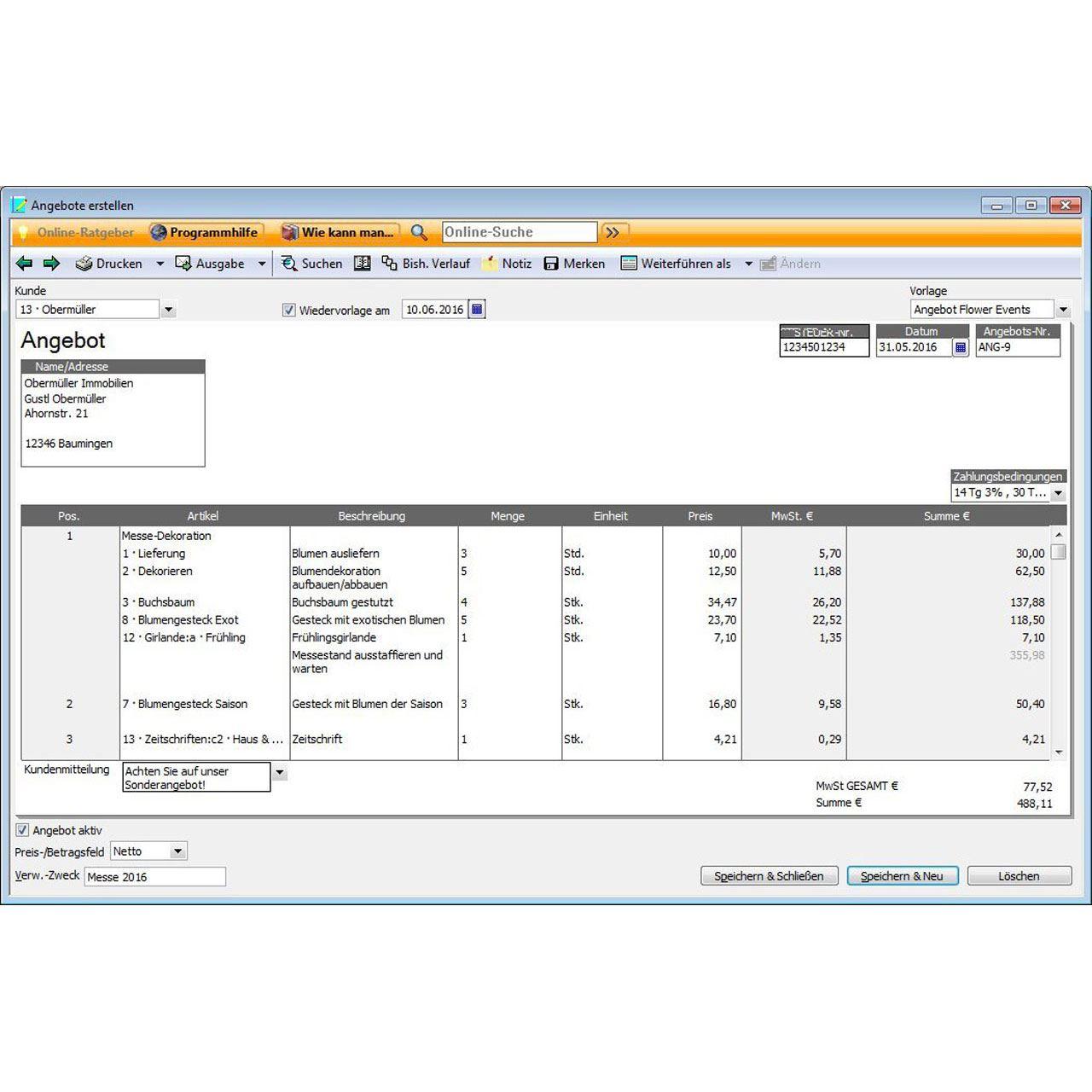 Lexware Büroeasy Start 2017 32 Bit Deutsch Buchhaltungssoftware