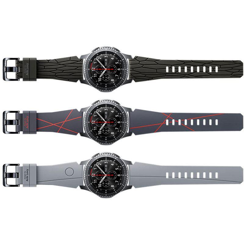 samsung armband gear s3 standard arik levy facet dark. Black Bedroom Furniture Sets. Home Design Ideas
