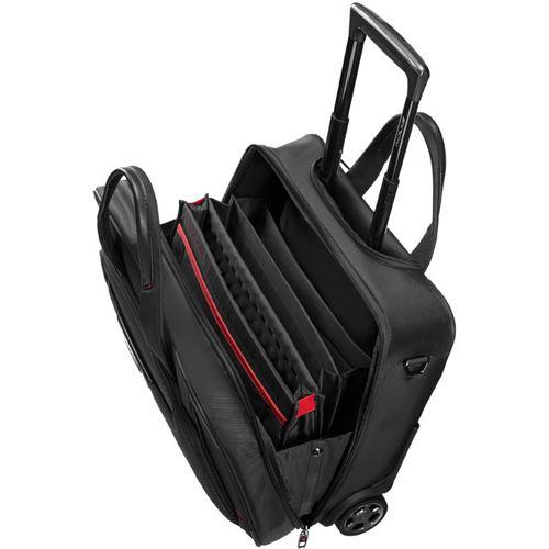 verbatim pro dlx 4 laptoptasche mit rollen 16 4 schwarz. Black Bedroom Furniture Sets. Home Design Ideas
