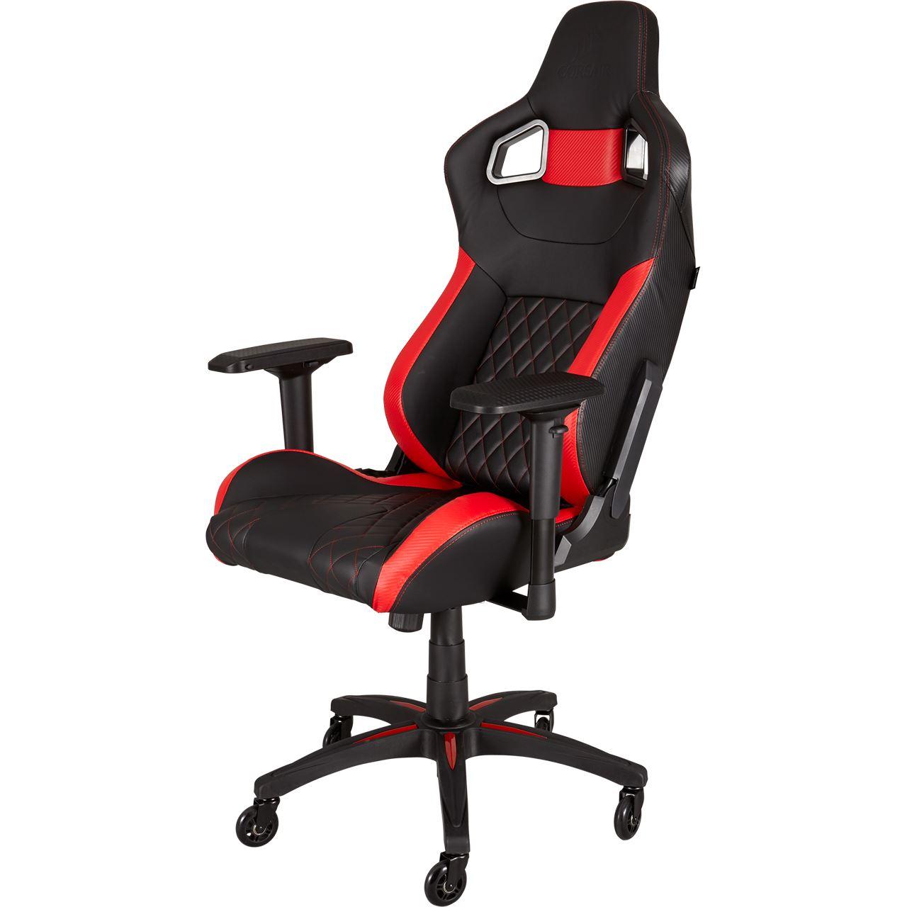 Race T1 Corsair Gaming Chair Schwarzrot MVzpSLqGjU