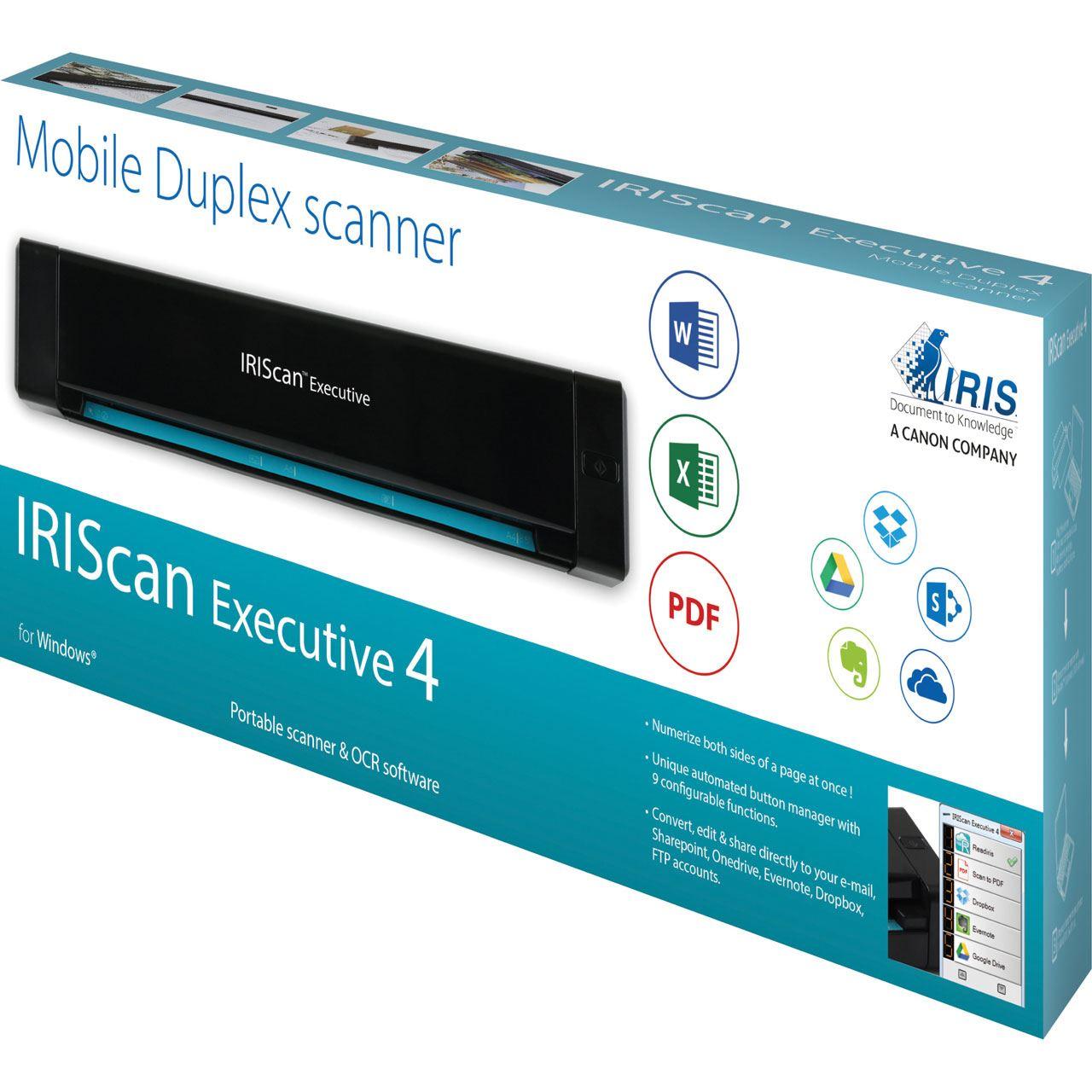 Iris Scan Executive 4 Duplex Scanner