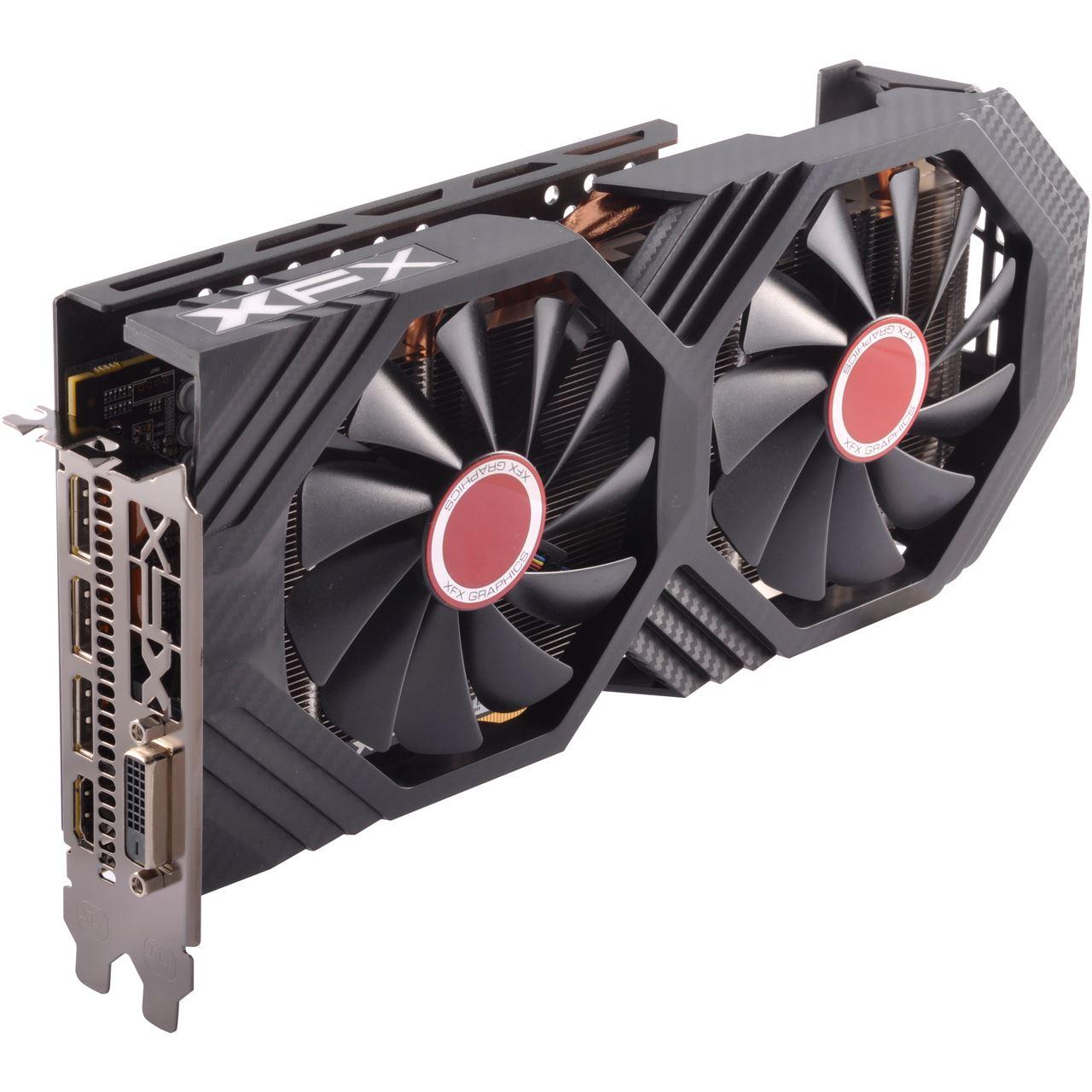 4GB XFX Radeon RX 580 GTS Core Aktiv PCIe 3.0 x16 (Retail ...