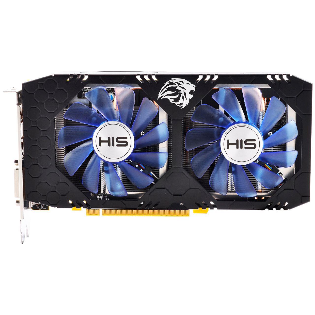 4gb His Radeon Rx 570 Iceq X2 Oc Aktiv Pcie 30 X16 Retail Vga Powercolor Red Devil Gddr5