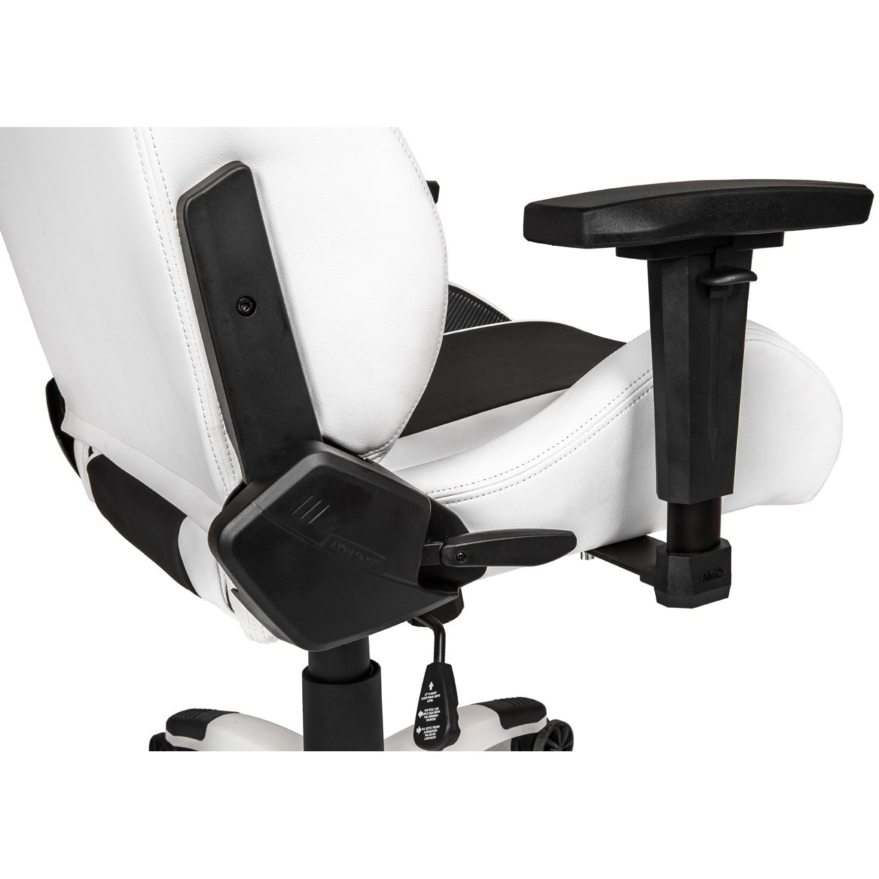 akracing arctica gaming stuhl wei gaming seats hardware notebooks. Black Bedroom Furniture Sets. Home Design Ideas