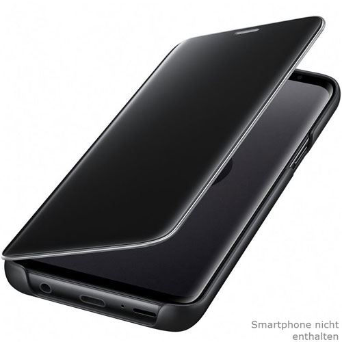 samsung clear view standing cover galaxy s9 schwarz. Black Bedroom Furniture Sets. Home Design Ideas