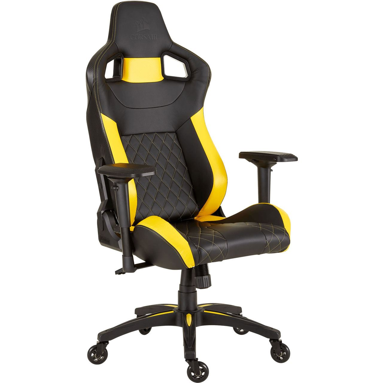 Corsair T1 Race 2018 Gaming Chair Black Yellow Gaming