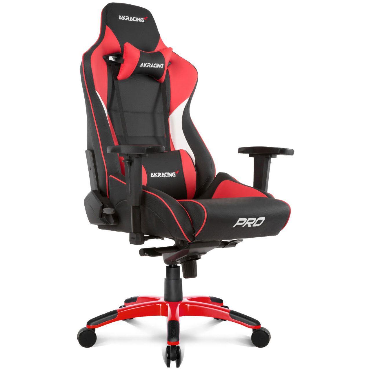 Gaming Racing Rot Stuhl Pro Ak Master 4cjAqS5L3R