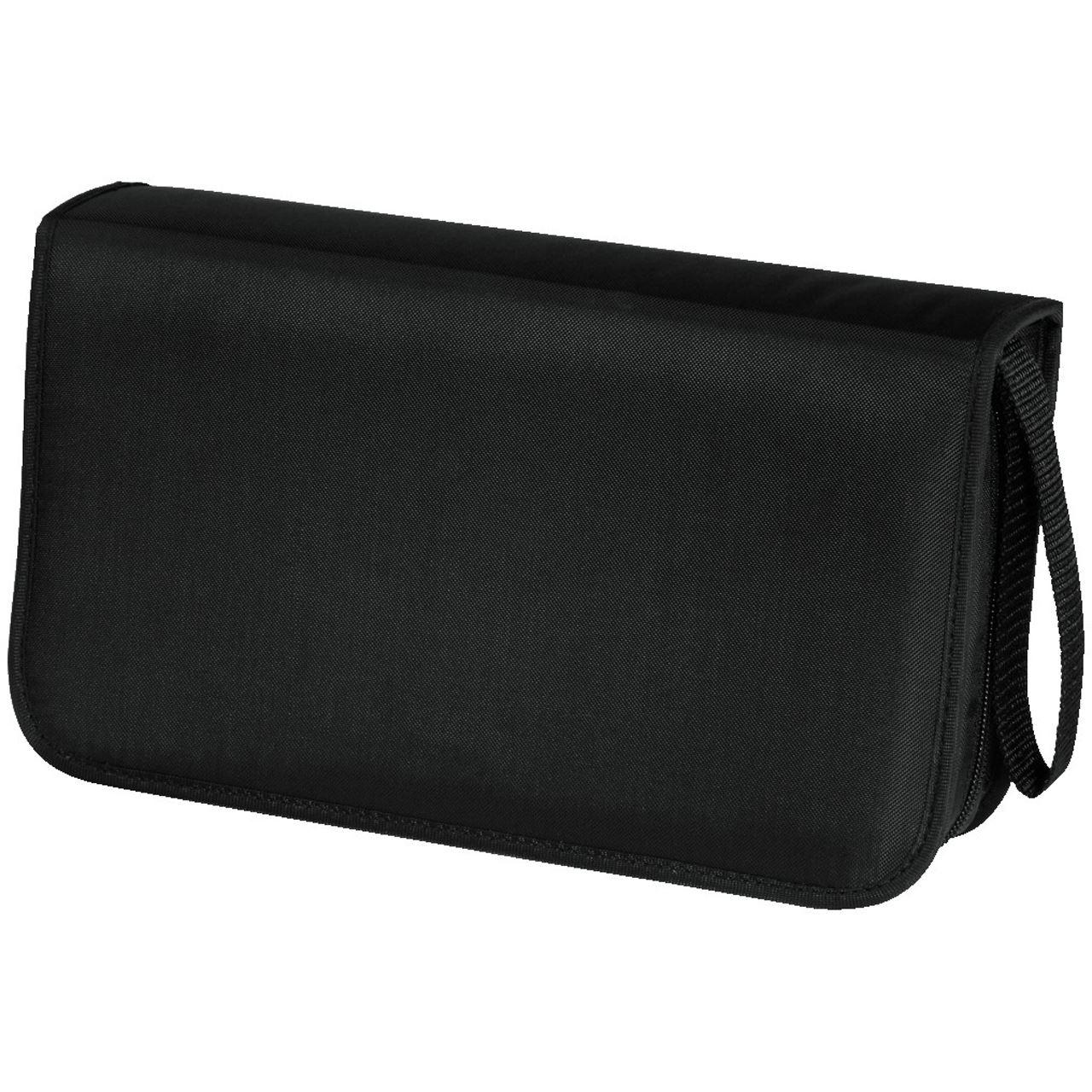 Hama CD-/DVD-/Blu-Ray-Tasche 80 schwarz Tasche für Aufbewahrung ...