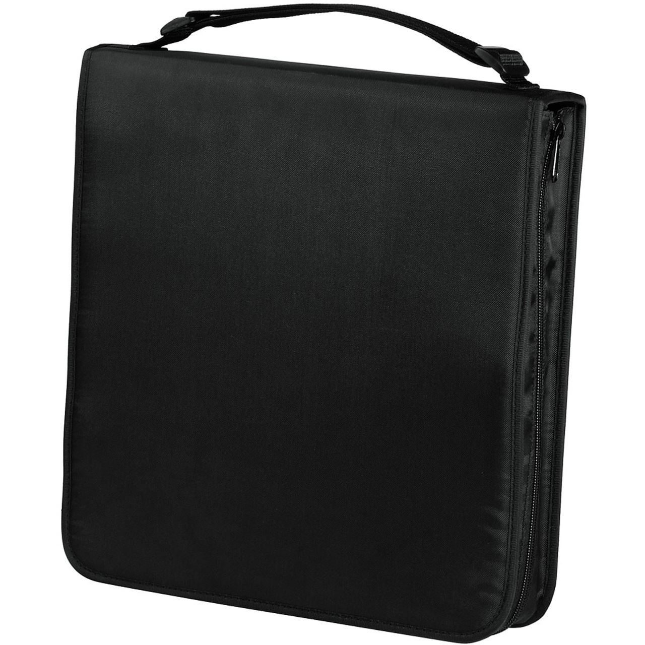 hama cd dvd blu ray tasche 160 schwarz tasche f r. Black Bedroom Furniture Sets. Home Design Ideas