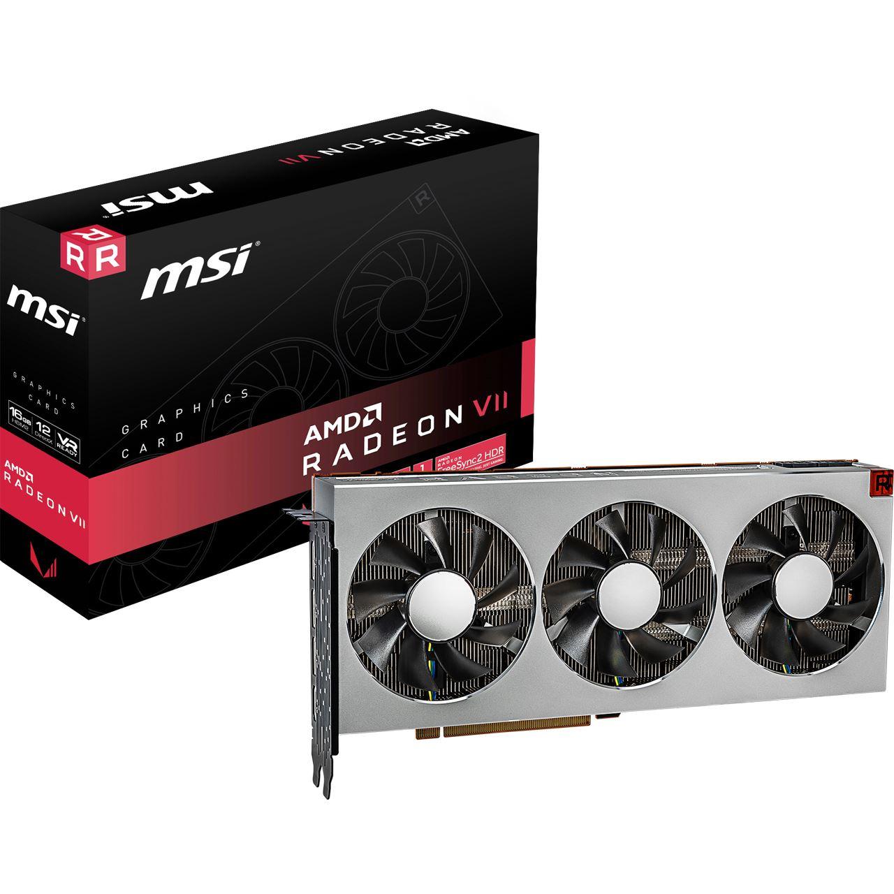 Retail 16GB MSI Radeon VII Aktiv PCIe 3.0 x16