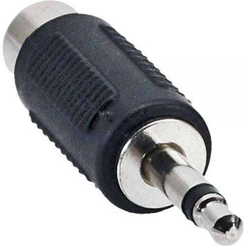 inline audio adapter klinke stecker mono auf cinch buchse schwarz klinke. Black Bedroom Furniture Sets. Home Design Ideas