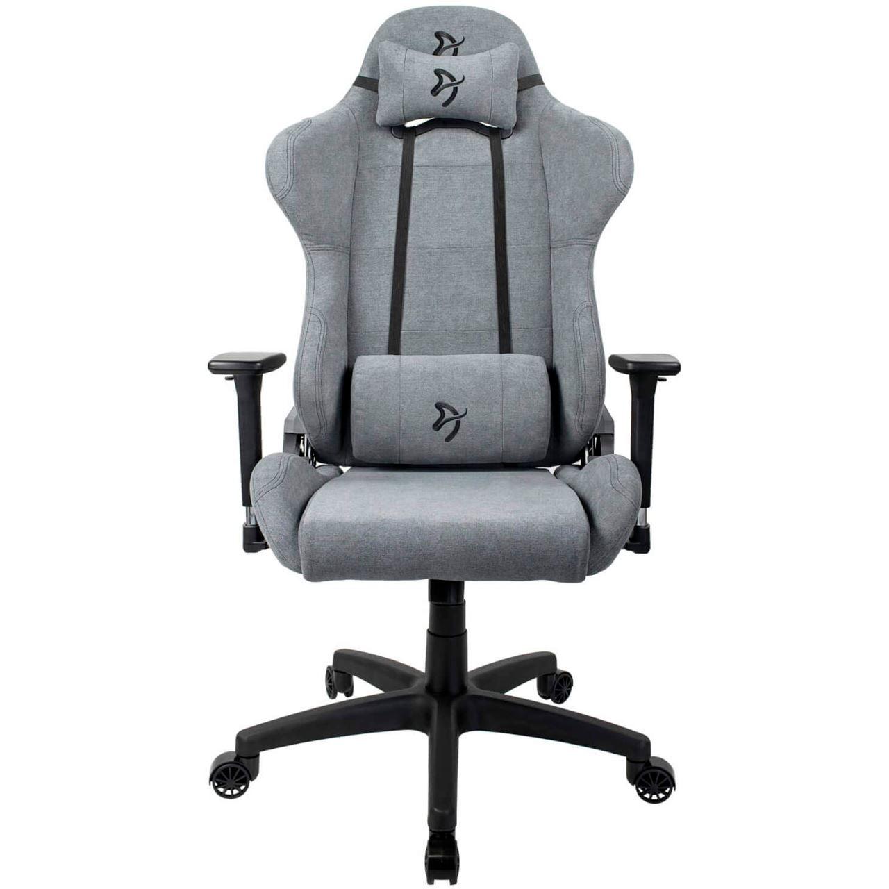 Arozzi Gaming Stuhl Torretta Soft Fabric Grau Gaming Seats Mindfactory De