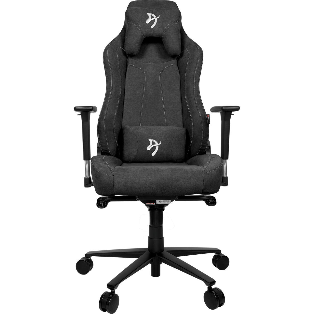 Arozzi Gaming Stuhl Vernazza Dunkelgrau Soft Fabric Gaming Seats Mindfactory De