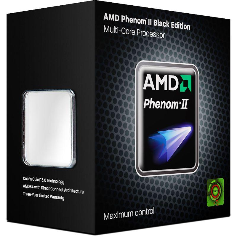 AMD Phenom II X3 720 280GHz AM3 75MB 95W Black Edition