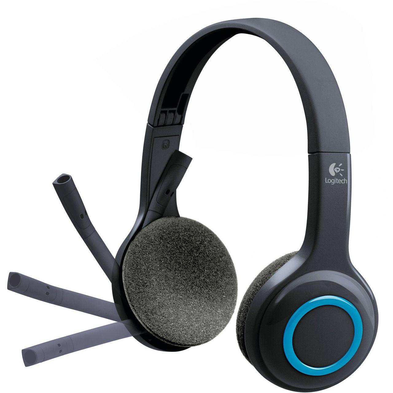 logitech h600 grau headsets kabellos. Black Bedroom Furniture Sets. Home Design Ideas