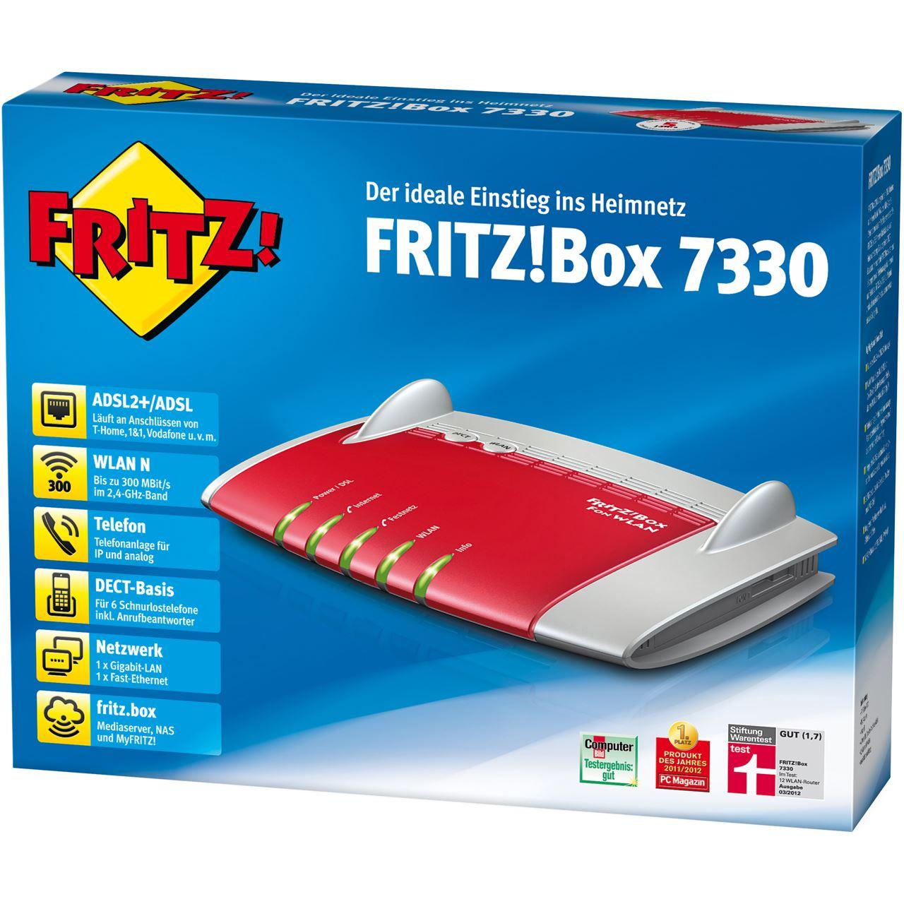 Update Fritzbox 7330
