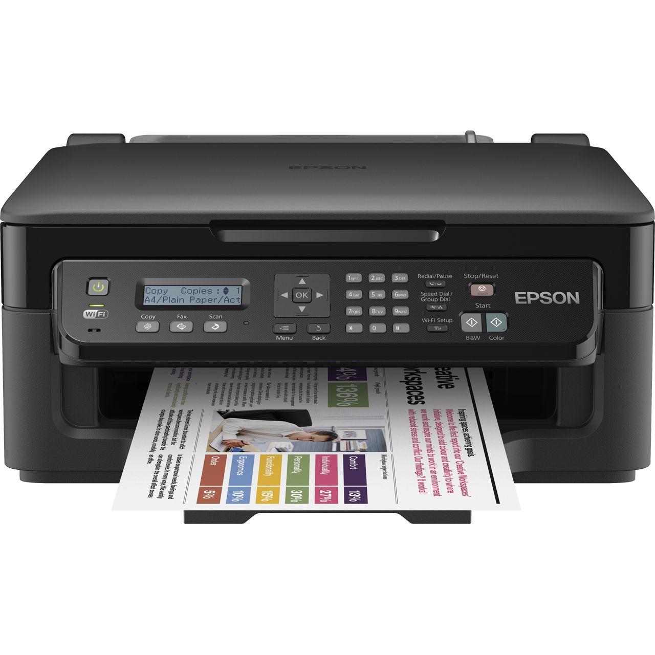 Epson WorkForce WF-2510WF Tinte Drucken/Scannen/Kopieren