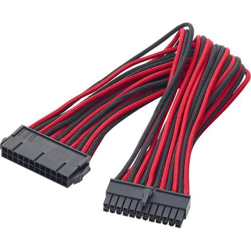 BitFenix 24-Pin 30cm rot ATX Verlängerung für ATX Pin | Mindfactory ...