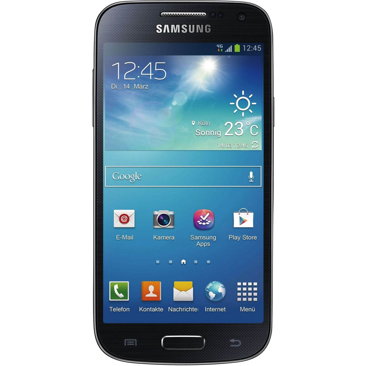 samsung galaxy s4 mini i9195 8 gb schwarz smartphones. Black Bedroom Furniture Sets. Home Design Ideas