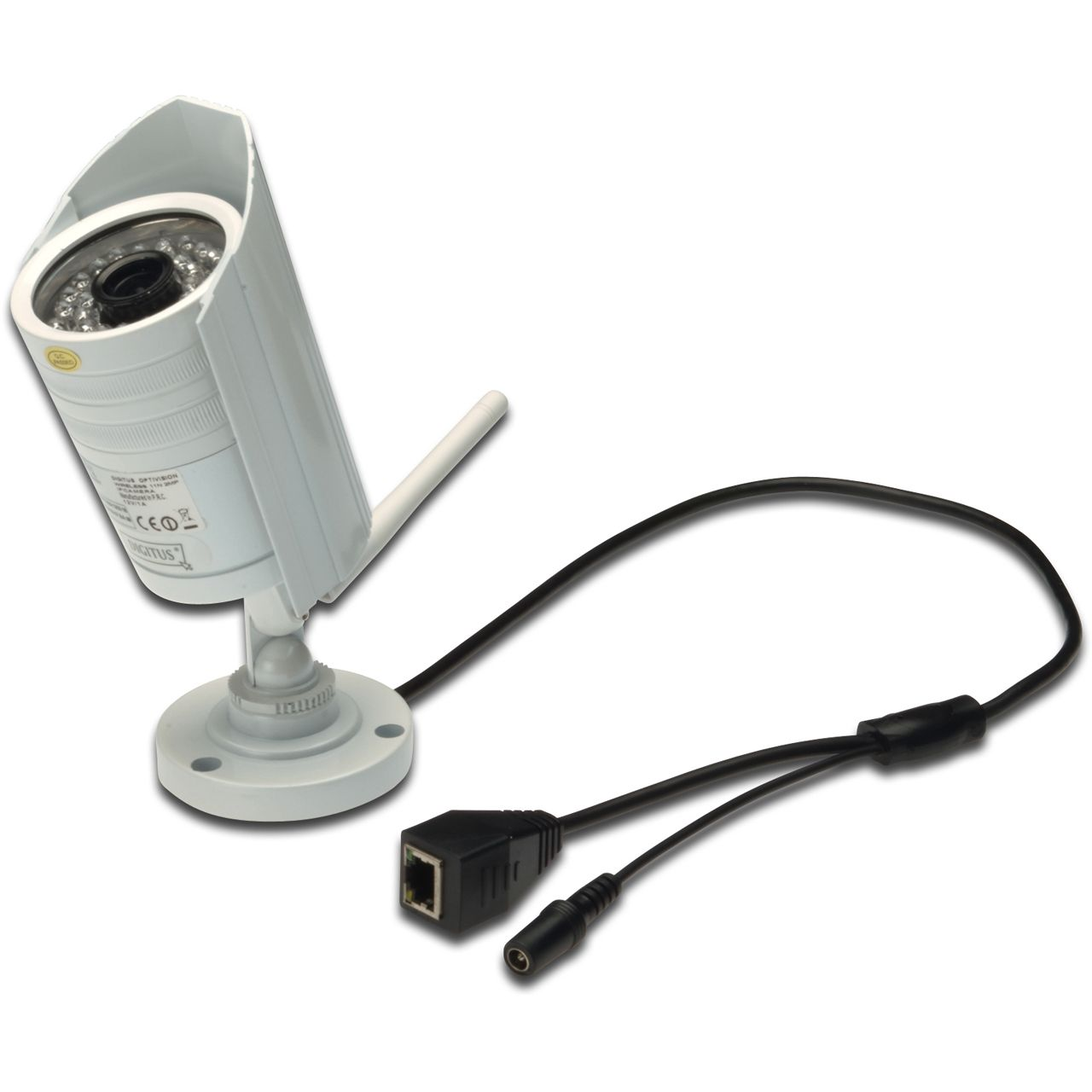 digitus ip cam optimax pro wlan plug view ip66 outdoor t n ip kameras wlan. Black Bedroom Furniture Sets. Home Design Ideas
