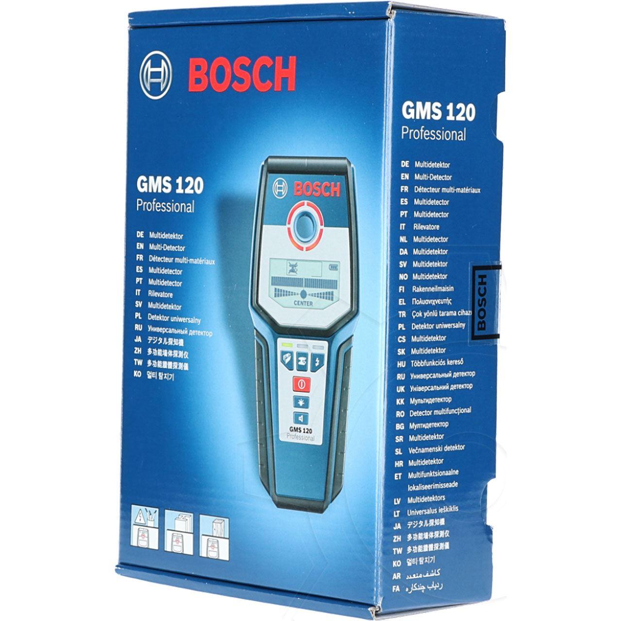 bosch multidetektor gms 120 - lupen | mindfactory.de - hardware