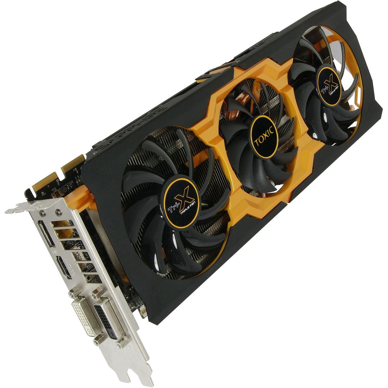 2GB Sapphire Radeon R9 270X Toxic Aktiv PCIe 3 0 x16 (Full Retail)
