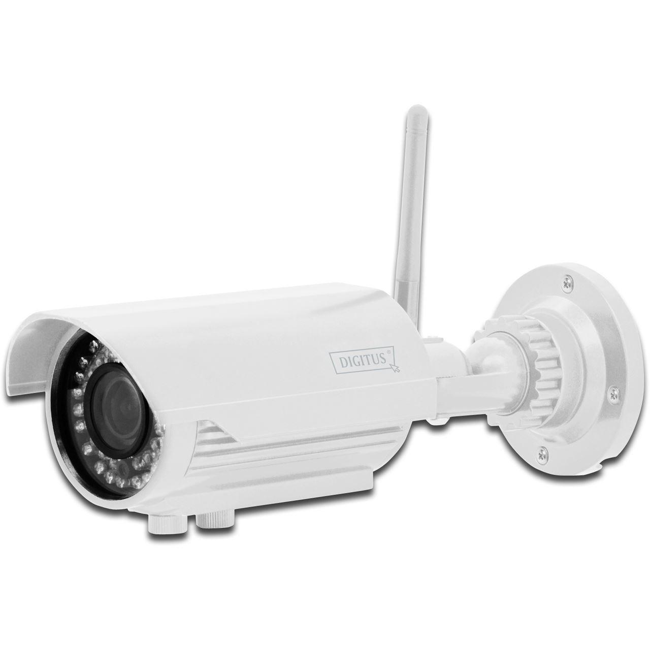 digitus ip cam optivario wlan plug view outdoor tag nacht ip kameras lan. Black Bedroom Furniture Sets. Home Design Ideas