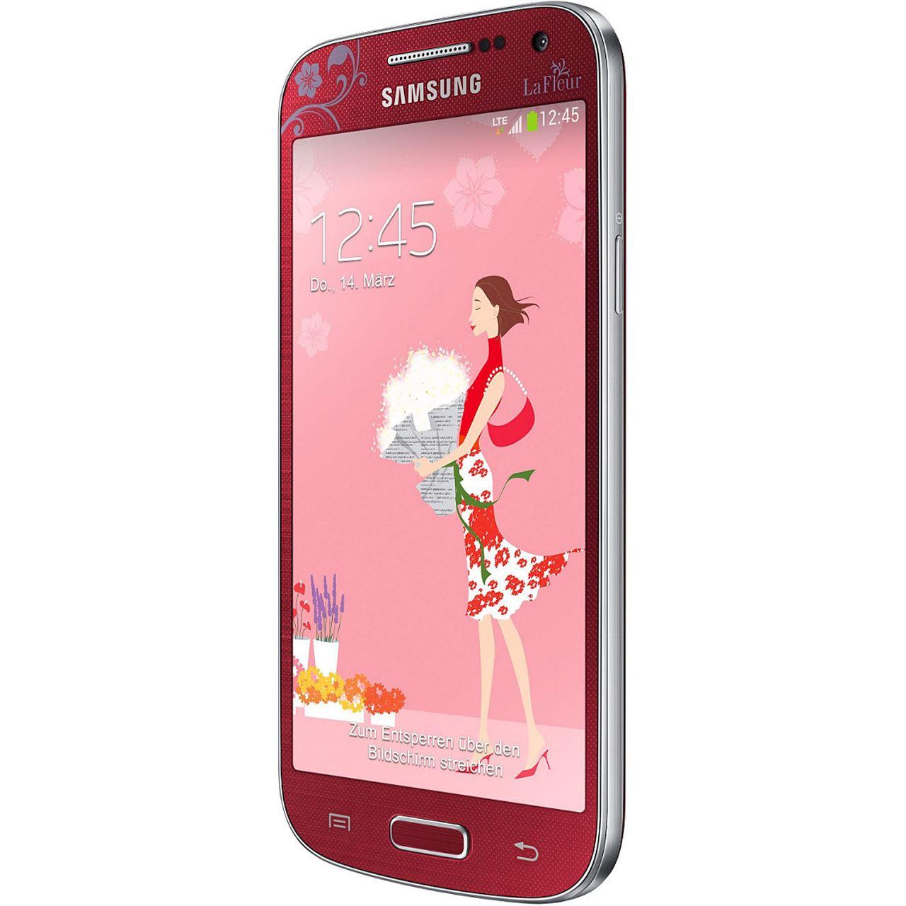 samsung galaxy s4 mini i9195 8 gb la fleur smartphones. Black Bedroom Furniture Sets. Home Design Ideas