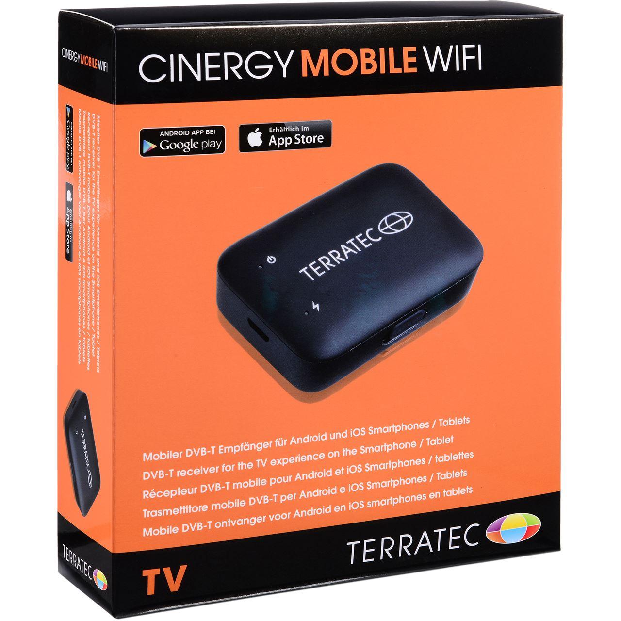 terratec cinergy mobile wifi wifi dvb t box receiver f r dvb t tv hardware. Black Bedroom Furniture Sets. Home Design Ideas