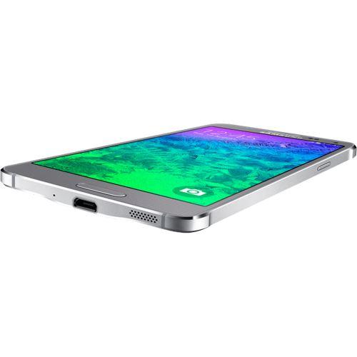 samsung galaxy alpha g850f 32 gb silber smartphones ohne. Black Bedroom Furniture Sets. Home Design Ideas