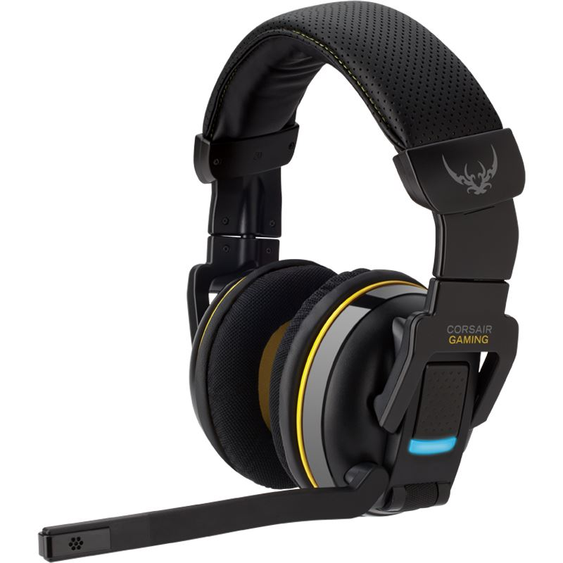 corsair gaming h2100 dolby 7 1 wireless schwarz headsets. Black Bedroom Furniture Sets. Home Design Ideas