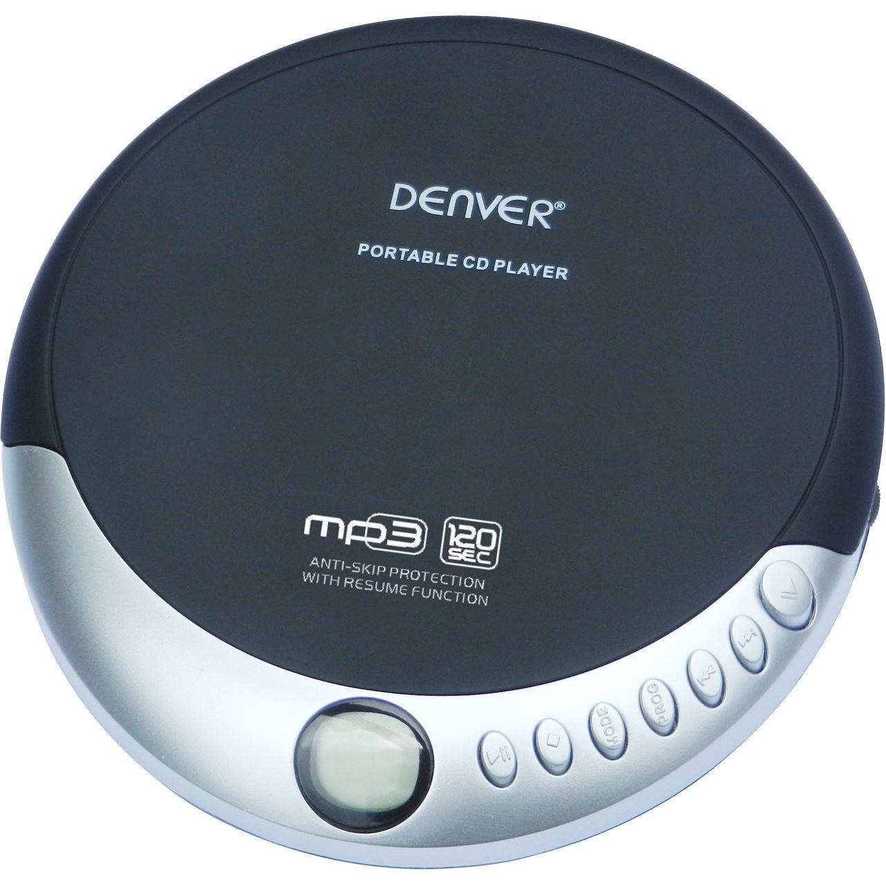 denver dmp 389 discman mit anti shock cd spieler. Black Bedroom Furniture Sets. Home Design Ideas